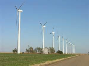 "The Grey County Wind Farm, where I met ""Howard"""