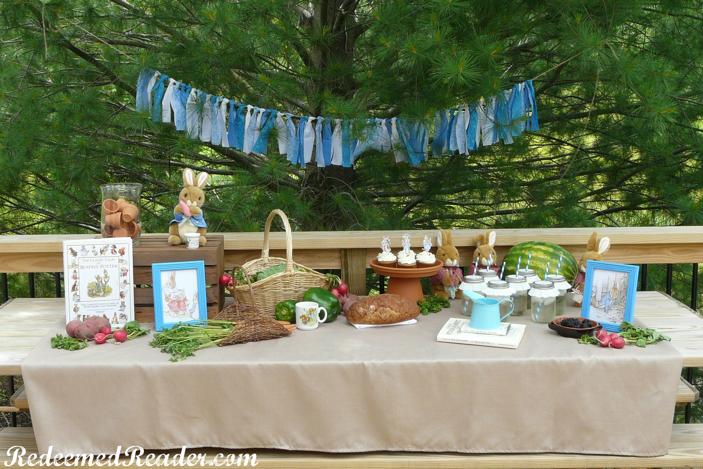 how to throw a book themed party for kids redeemed reader