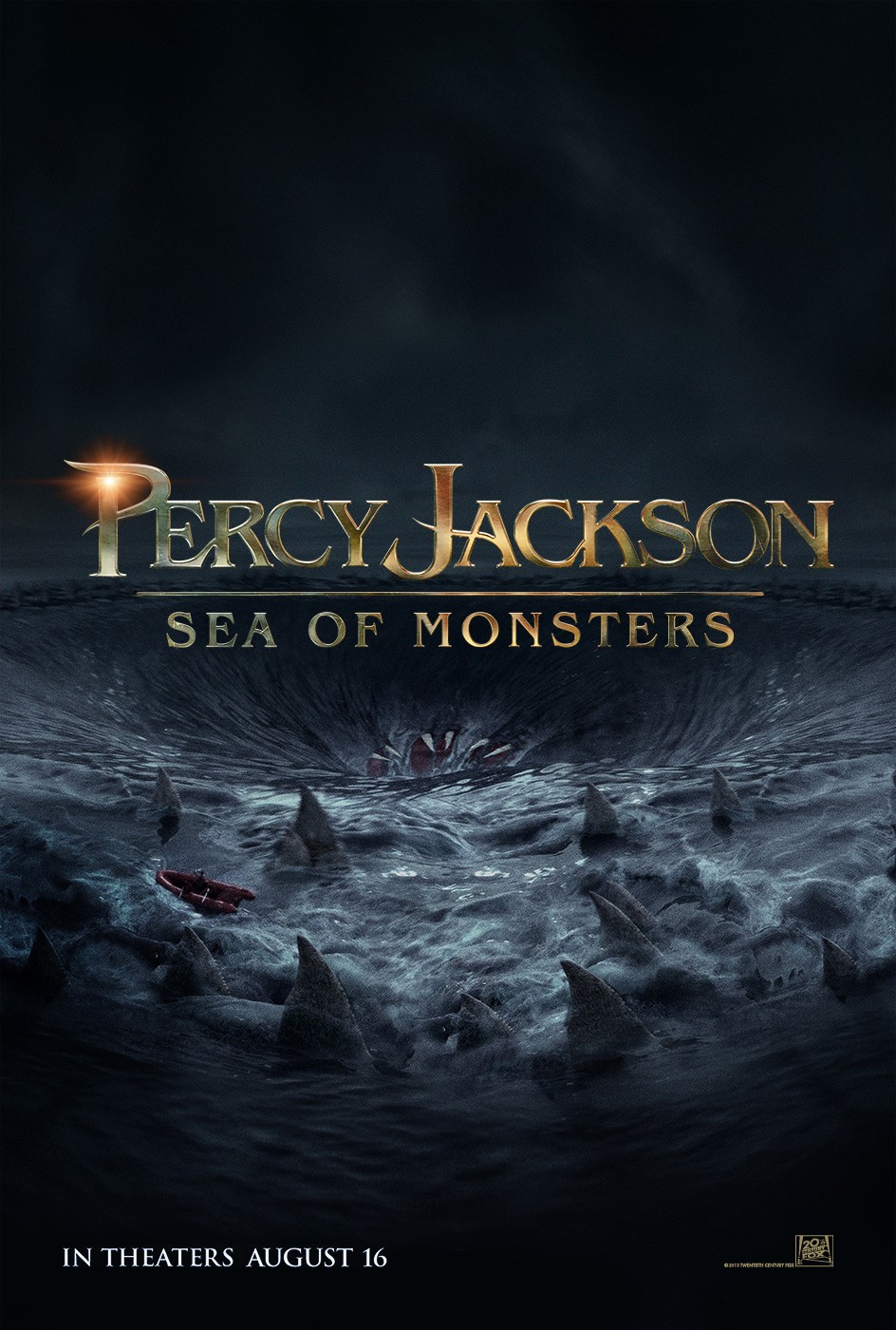 Sea of Monsters Awash with Uneven Writing