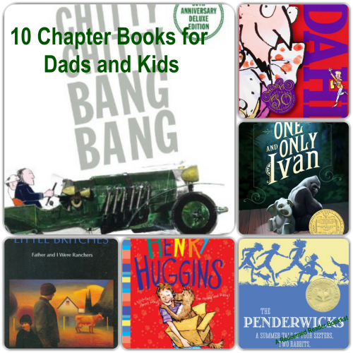 10 Chapter Books For Dads To Read To Their Kids Printable
