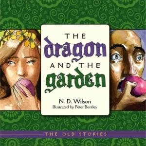 dragon and garden