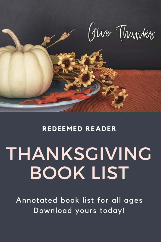 Thanksgiving Book List link image