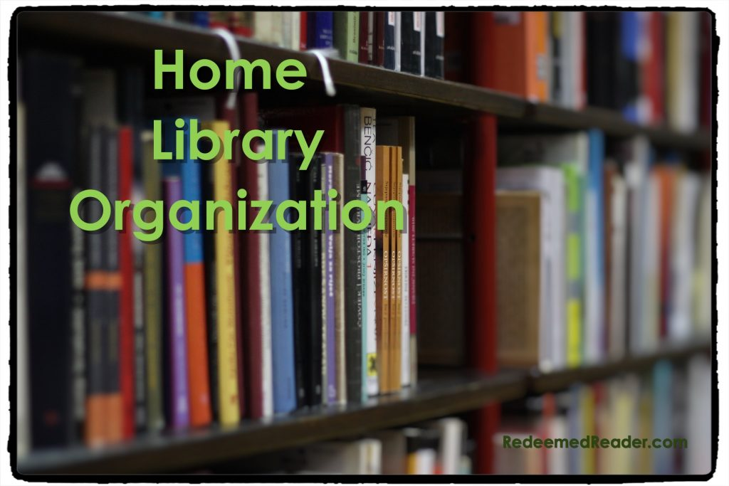 Home Library Organization Series