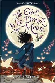 Cover image of The Girl Who Drank the Moon