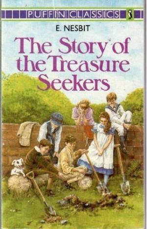 Image result for The Story of the Treasure Seekers by E. Nesbit