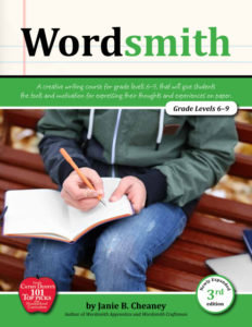Wordsmith Curriculum Review: A Writing Curriculum by our own Janie Cheaney