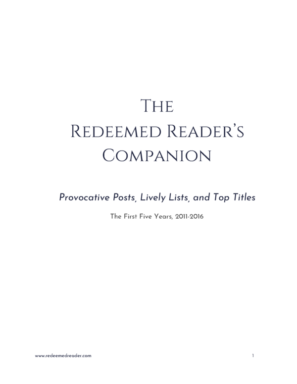 Redeemed Reader Companion Title Page