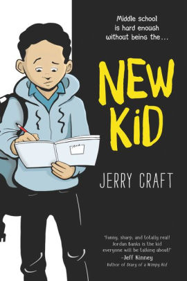 Cover image of New Kid by Jerry Craft