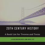 20th Century Book List for Young Teens