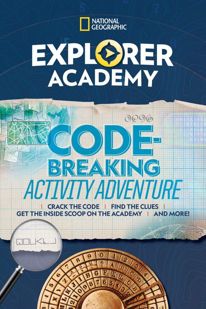 Explorer Academy Code-Breaking Activity Adventure cover image