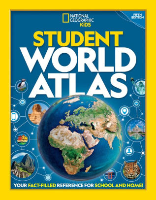 Student World Atlas Nat Geo Kids cover image