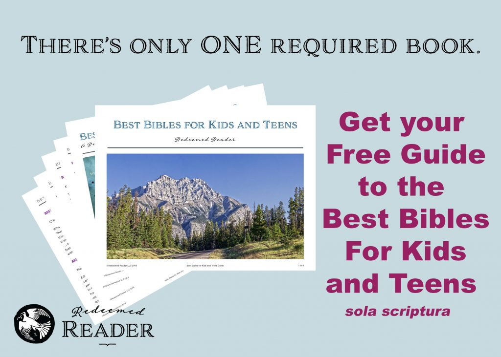 Link to Free Guide to Best Bibles for Kids and Teens