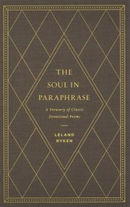 cover of Soul in Paraphrase for soul-shaping poetry