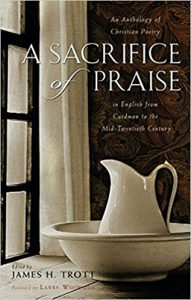 cover of Sacrifice of Praise for soul-shaping poetry