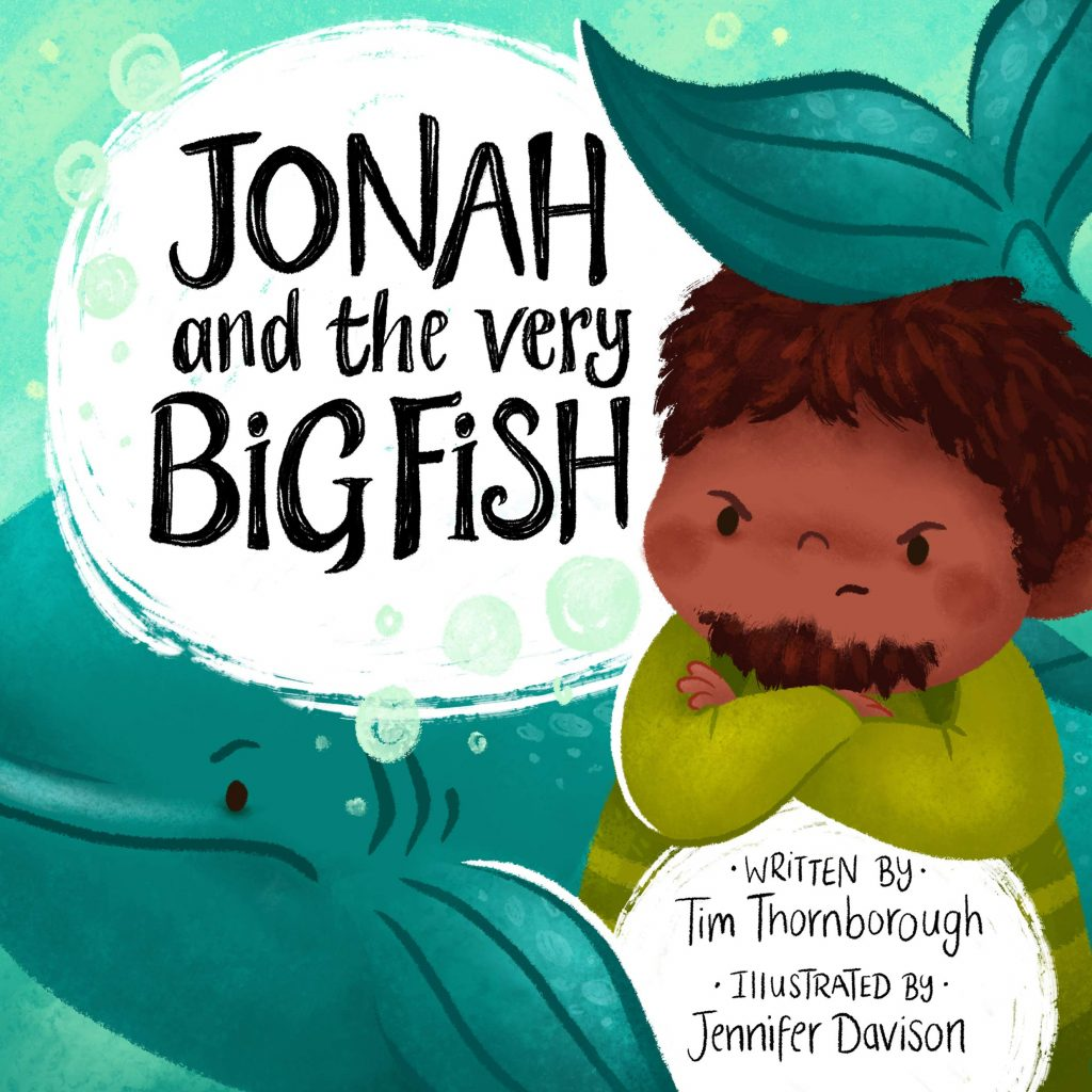 cover image for jonah and the very big fish
