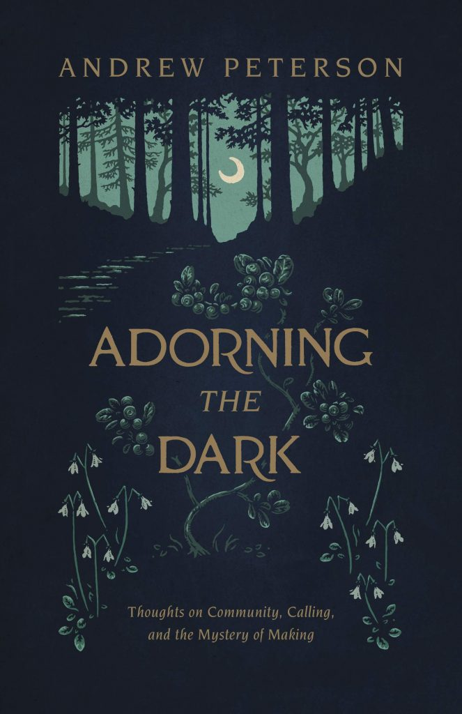 cover of adorning the dark
