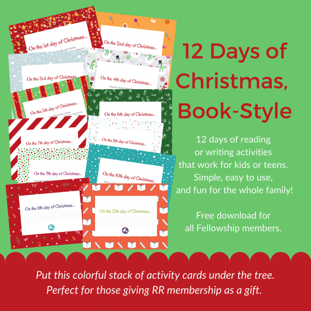 12 Days of Christmas, Book-Style