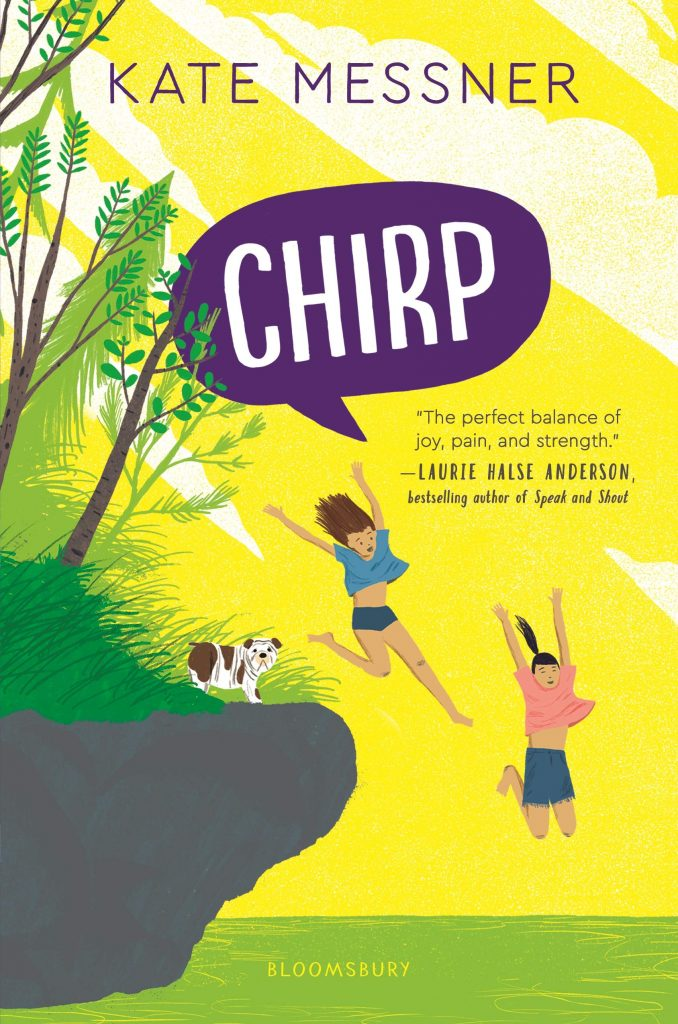 cover of chirp by kate messner