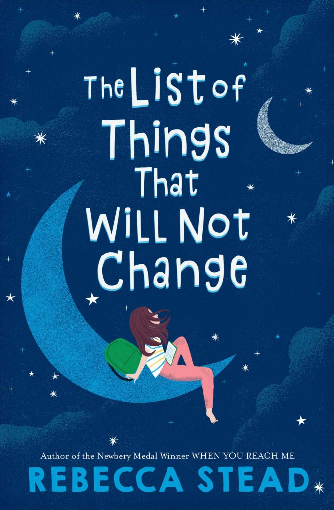 cover of the list of things that will not change